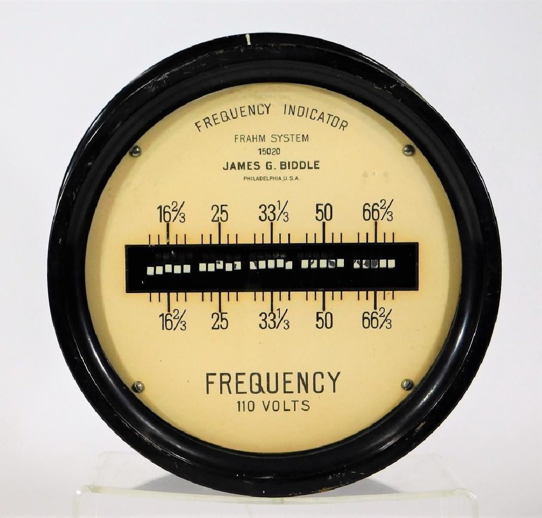 James Biddle Frahm System 110V Frequency Indicator - 2