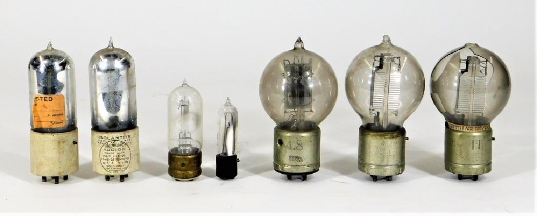 7PC Antique Vacuum Tube 215A 216A VT2 Group