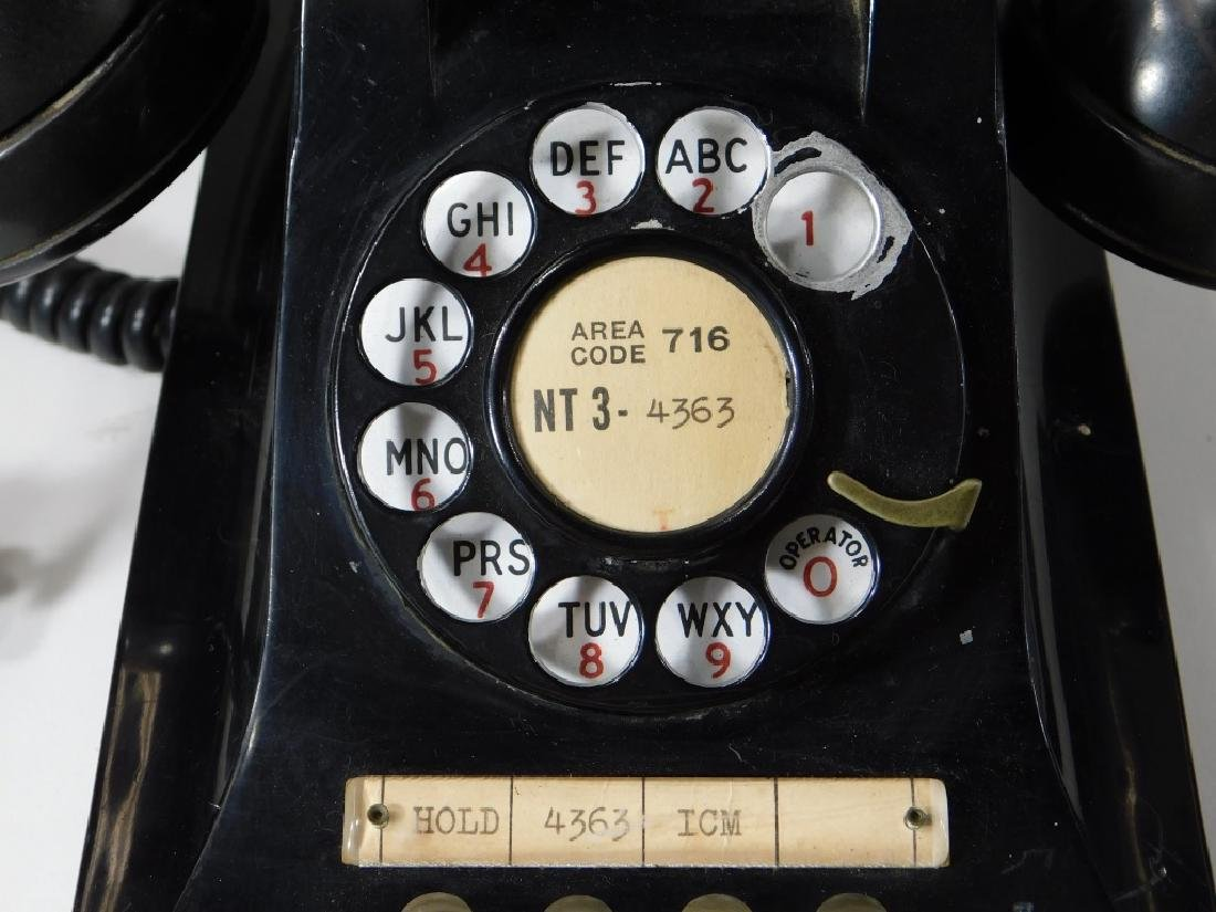 Western Electric Bell Systems F1 Rotary Telephone - 2