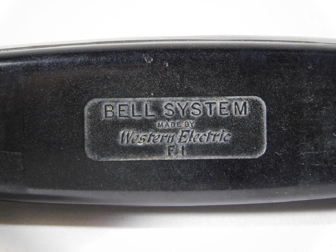 Western Electric Bell Systems F1 Rotary Telephone - 4