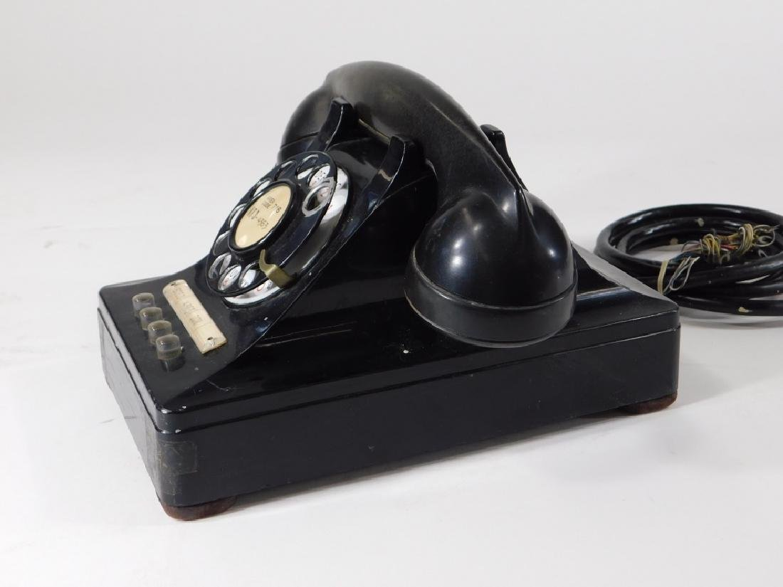Western Electric Bell Systems F1 Rotary Telephone - 5