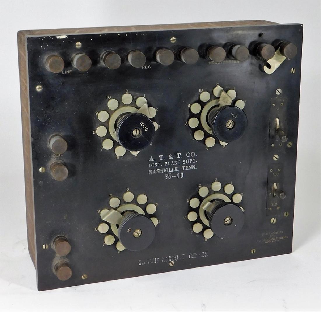 Western Electric 14-B Rheostat 1B Impedance Bridge