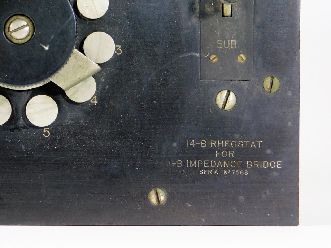 Western Electric 14-B Rheostat 1B Impedance Bridge - 3