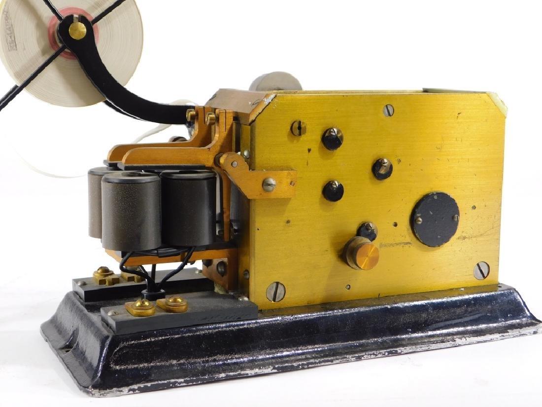 J. H. Bunnell Telegraph Pen Register Sounder Key - 3