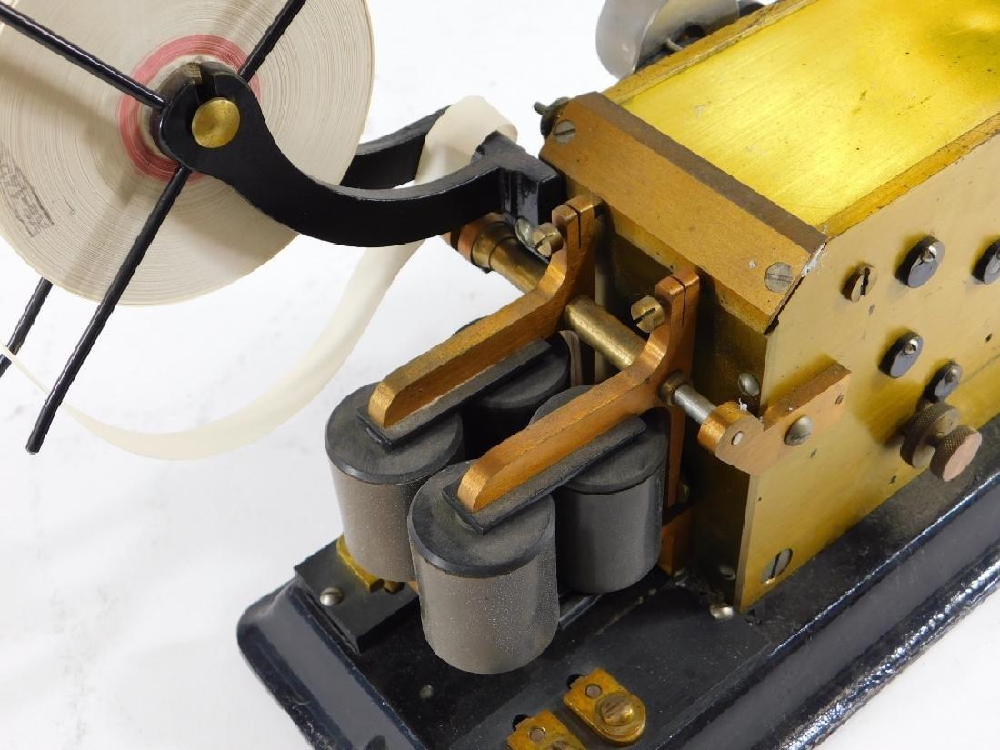 J. H. Bunnell Telegraph Pen Register Sounder Key - 4