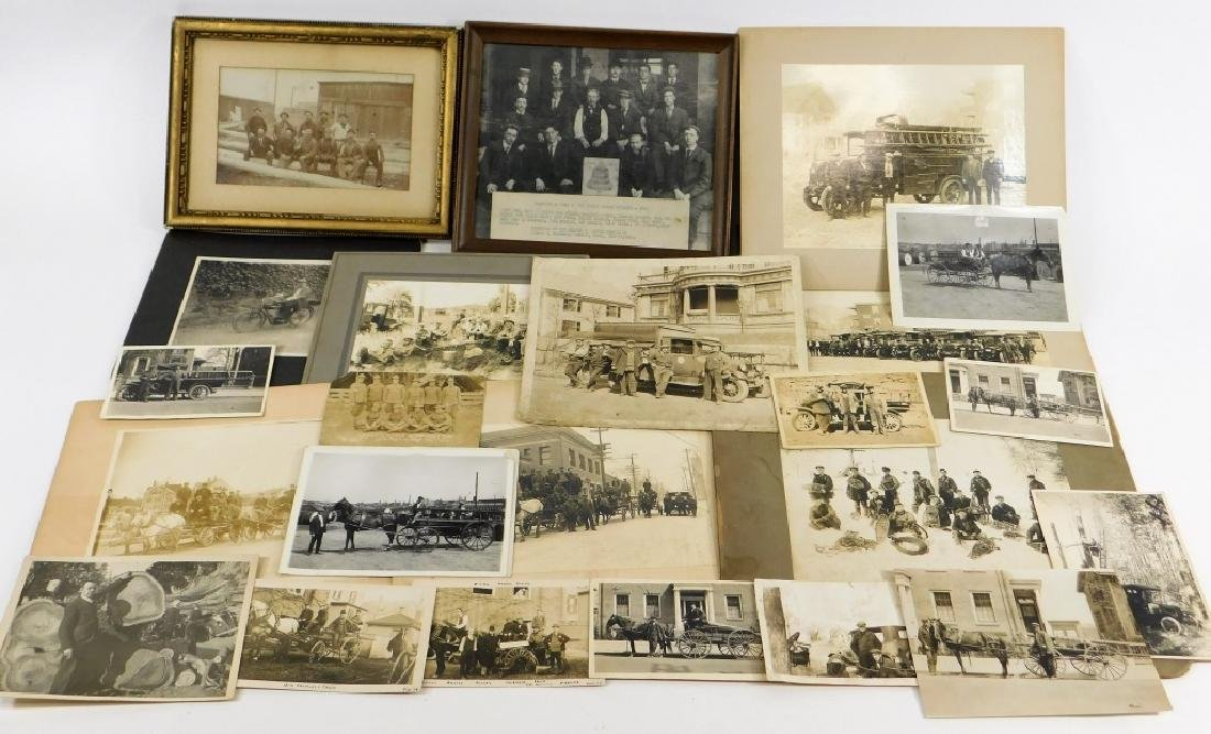 35PC Early Linemen Telephone Truck Photography Lot