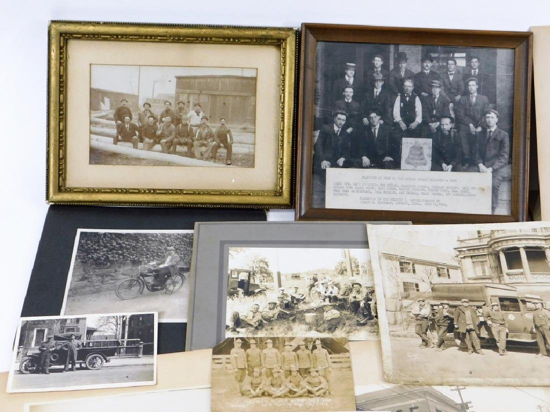35PC Early Linemen Telephone Truck Photography Lot - 2