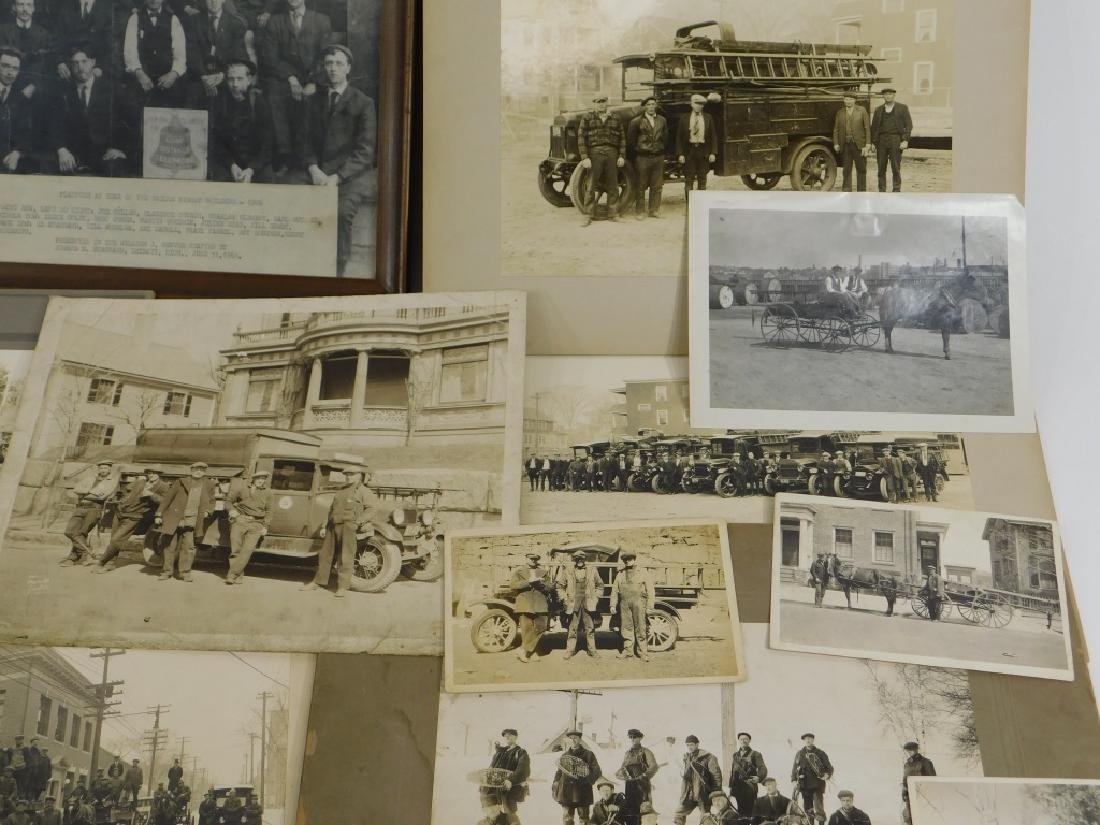 35PC Early Linemen Telephone Truck Photography Lot - 3