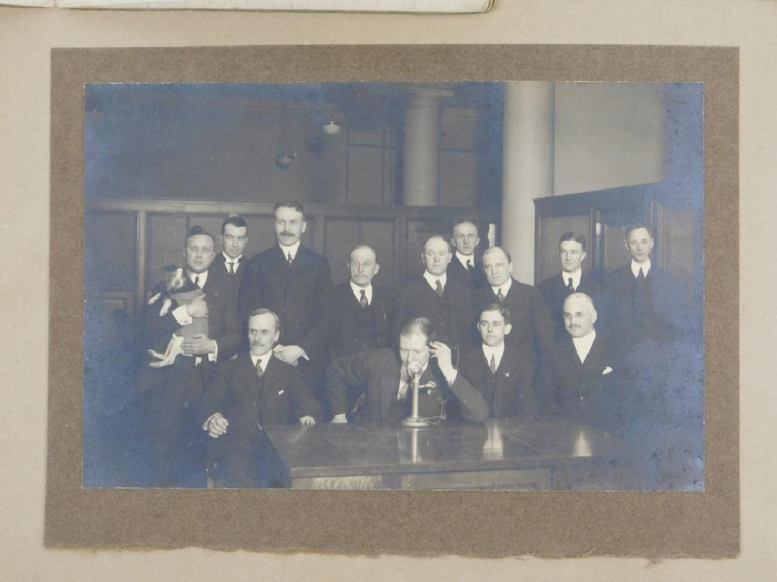 C.1915 Transcontinental Telephone Demo Photograph - 4