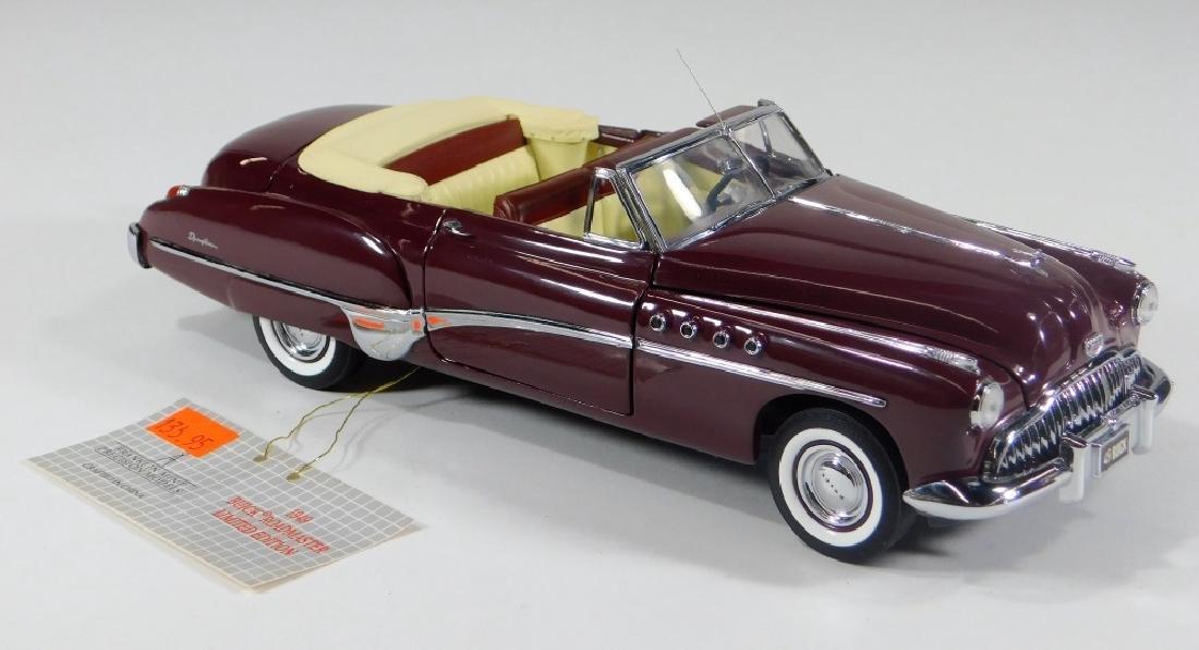 Franklin Mint 1949 Buick Roadmaster Diecast Car