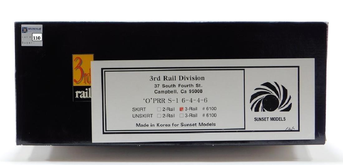 3rd Rail O PRR S-1 6-4-4-6 O Gauge Train Model
