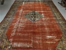LARGE C.1900 Oriental Persian Sultanabad Carpet