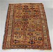 C.1890 Caucasian Oriental Geometric Carpet Rug