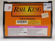 Rail King Erie Lackawanna Switcher Diesel Engine