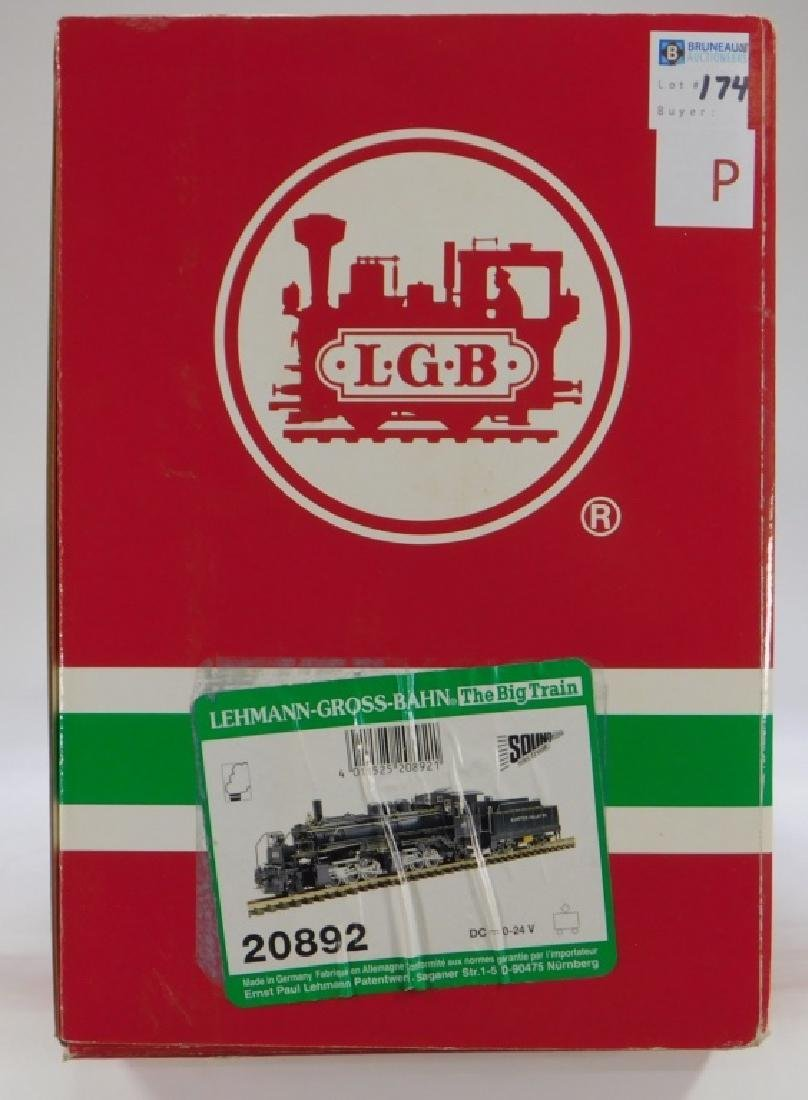 LGB Lehmann Gross Bahn G Scale Locomotive Train