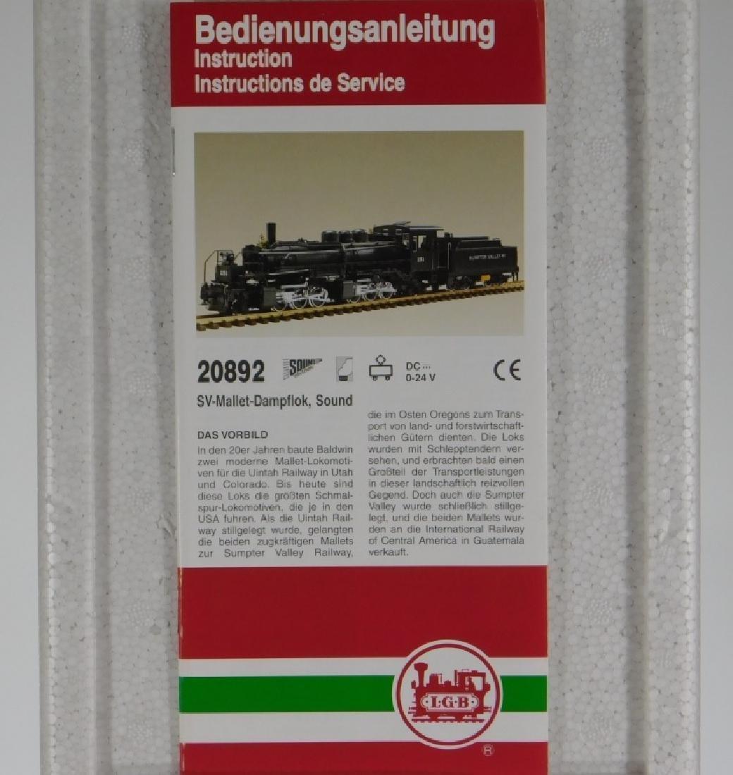 LGB Lehmann Gross Bahn G Scale Locomotive Train - 4