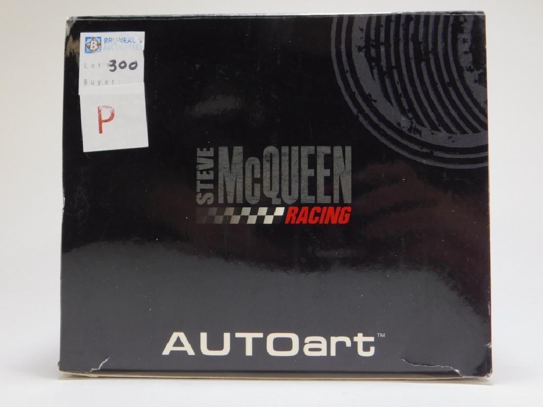 AUTOart 1:18 Steve McQueen Jaguar XKSS Diecast Car - 3