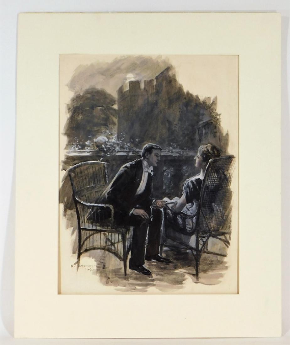 William Smedley Art Nouveau Romantic Illustration - 2