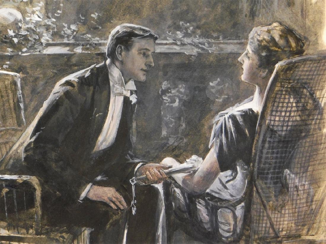 William Smedley Art Nouveau Romantic Illustration - 3