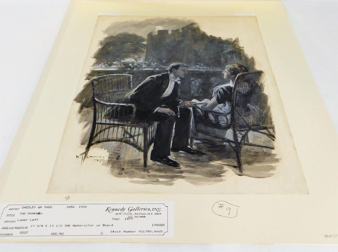 William Smedley Art Nouveau Romantic Illustration - 5