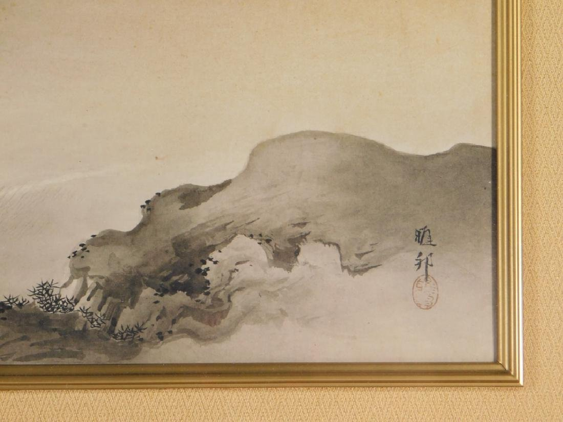 Gaho Hashimoto Ink Watercolor Landscape Painting - 4