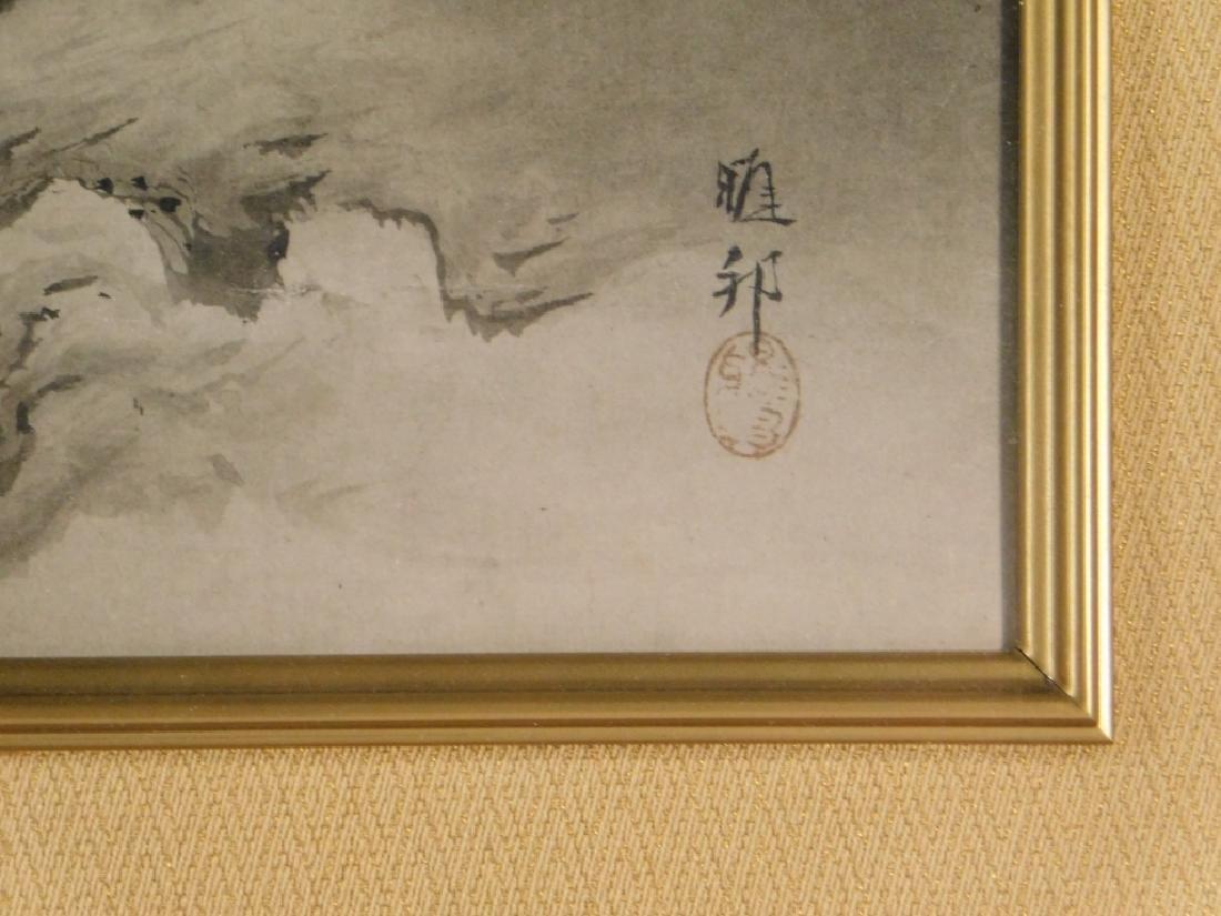 Gaho Hashimoto Ink Watercolor Landscape Painting - 5