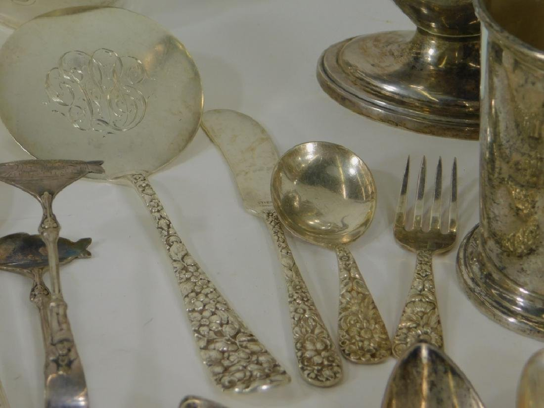 30PC Sterling Silver Estate Hollow Flatware 50ozt - 7