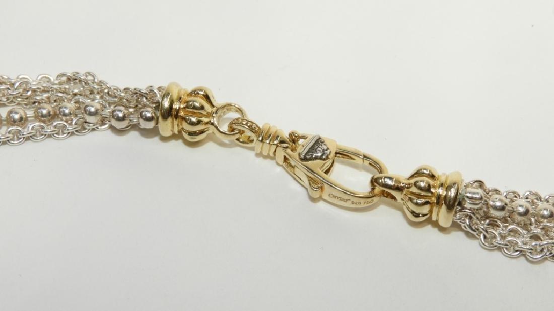 Lagos Caviar S.S. 18K Gold Necklace & Bracelet - 3