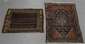 2 Persian Middle Eastern Carpet Rugs