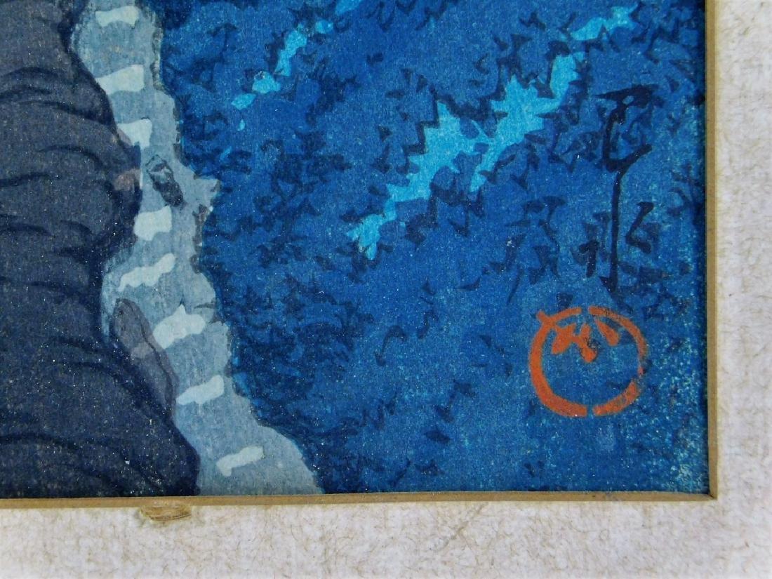 Hasui Kawase Forest Landscape Woodblock Print - 5