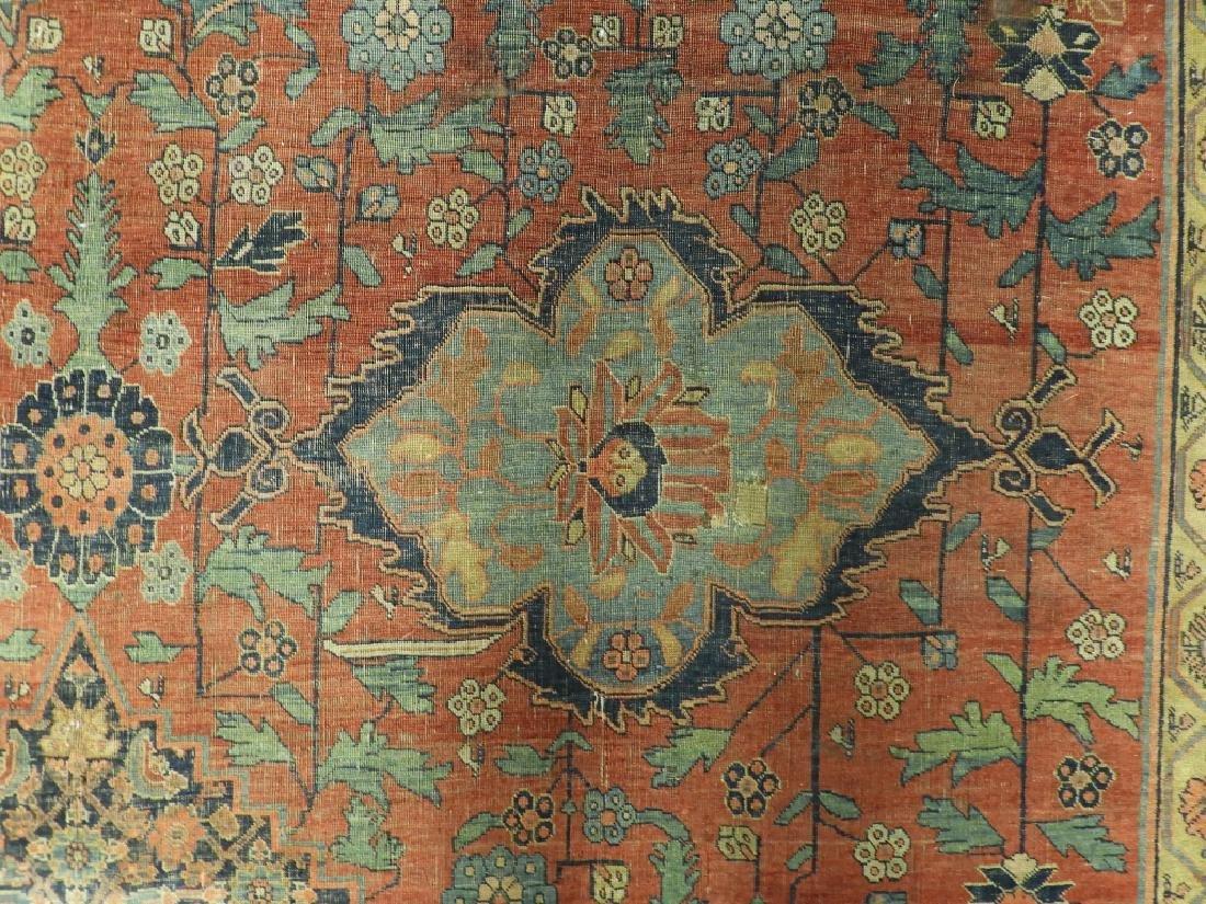 C.1900 Persian Middle Eastern Bidjar Carpet Rug - 4