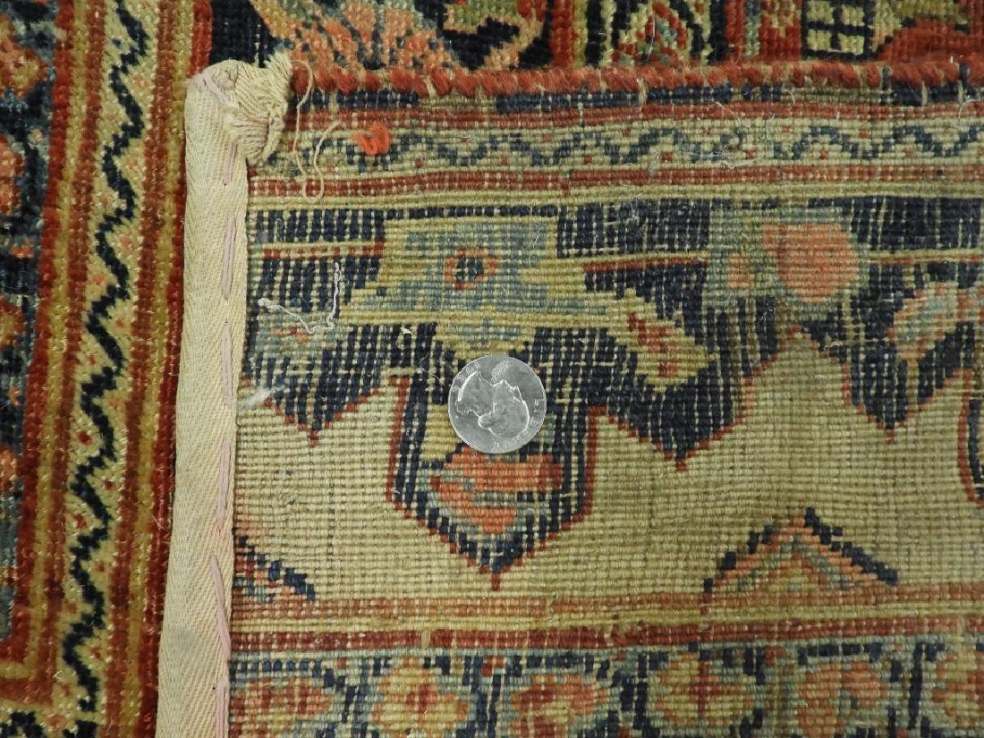 C.1900 Persian Middle Eastern Bidjar Carpet Rug - 8