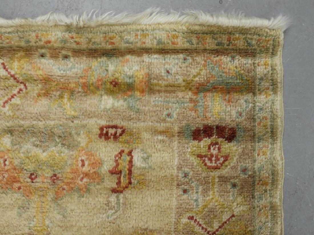 Persian Oushak Angora Wool Rug Carpet Runner - 4