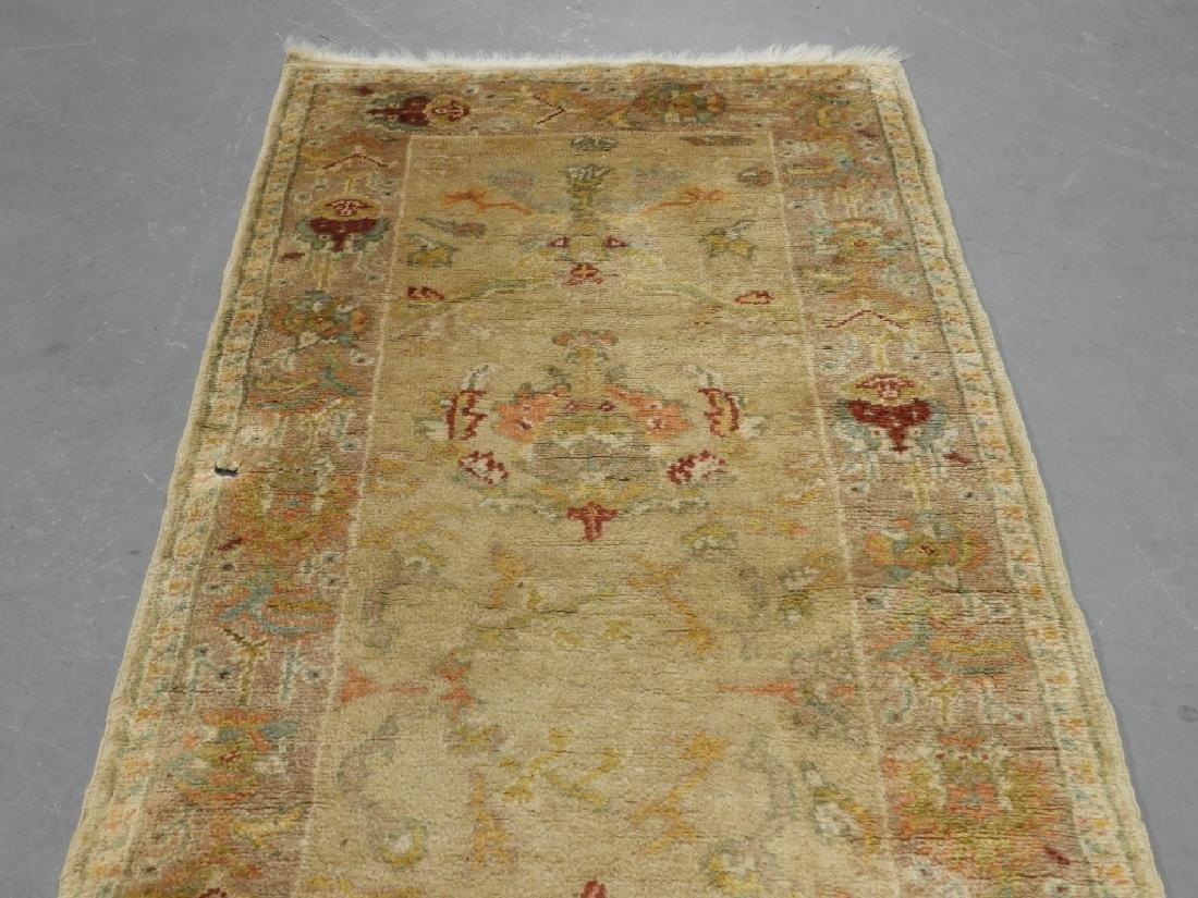 Persian Oushak Angora Wool Rug Carpet Runner - 5