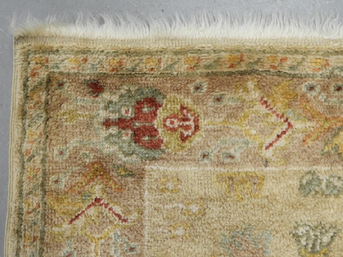 Persian Oushak Angora Wool Rug Carpet Runner - 6