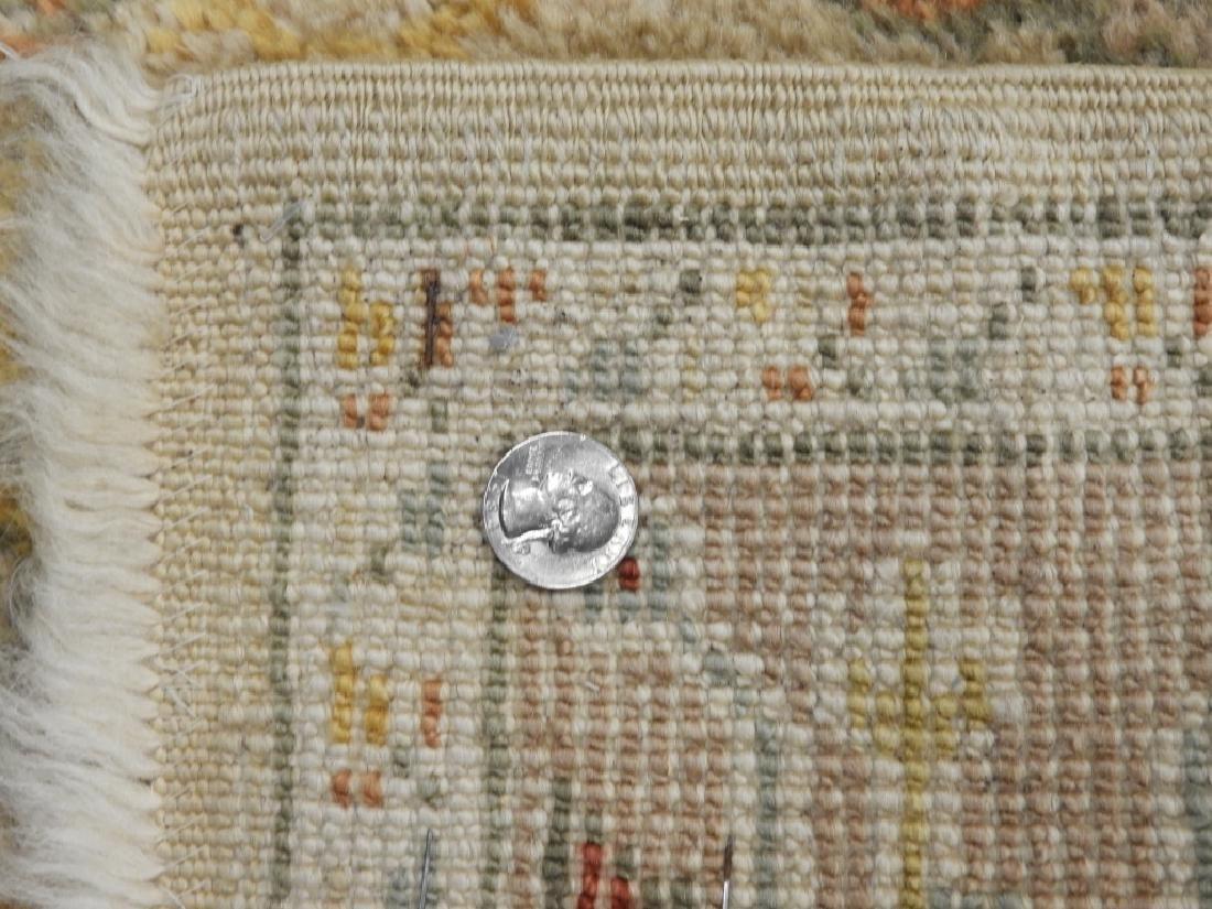 Persian Oushak Angora Wool Rug Carpet Runner - 8
