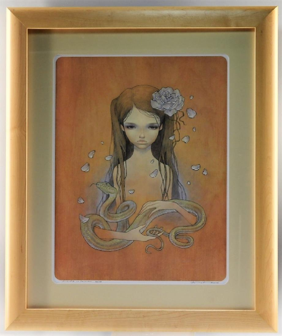 Audrey Kawasaki Charlotte No Keikaku Giclee Print
