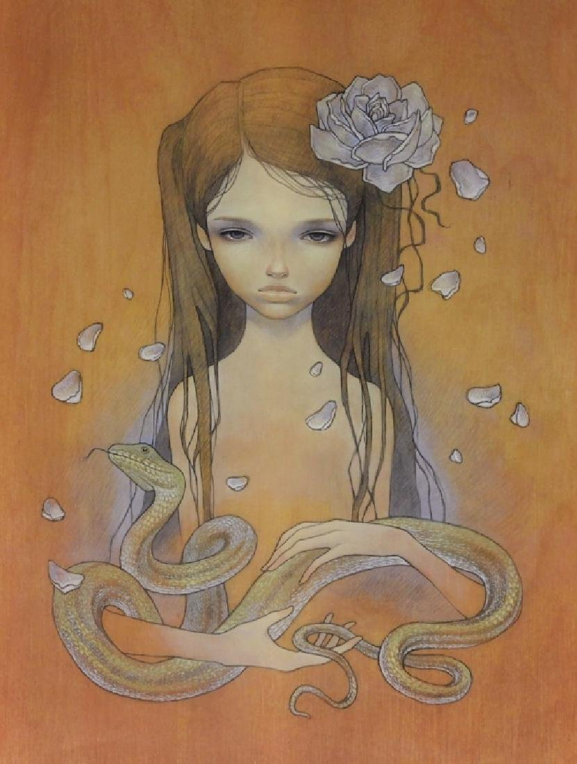 Audrey Kawasaki Charlotte No Keikaku Giclee Print - 2