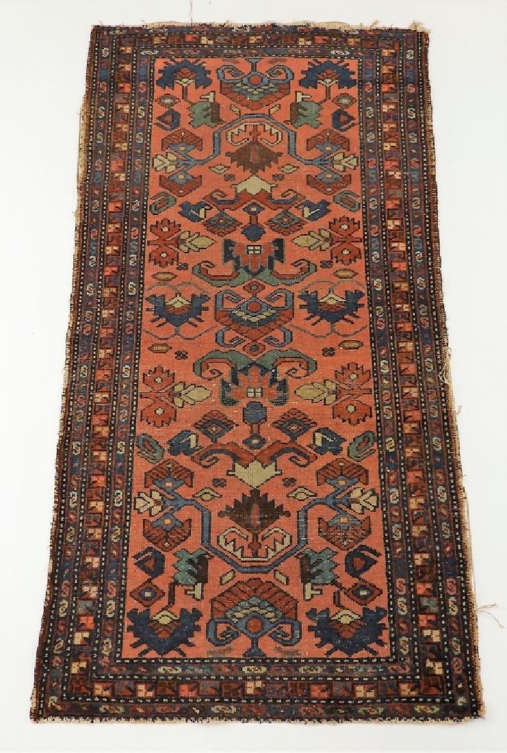 C.1900 Persian Oriental Lilihan Sarouk Carpet Rug