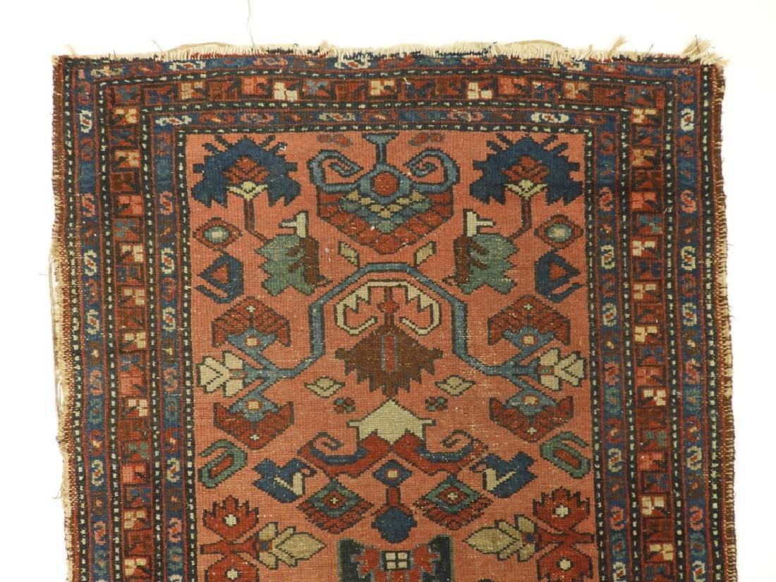C.1900 Persian Oriental Lilihan Sarouk Carpet Rug - 4