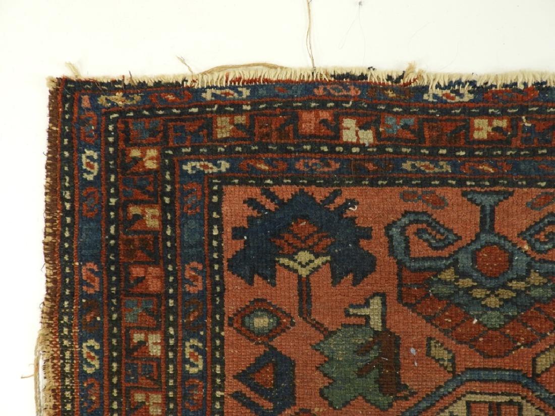 C.1900 Persian Oriental Lilihan Sarouk Carpet Rug - 5