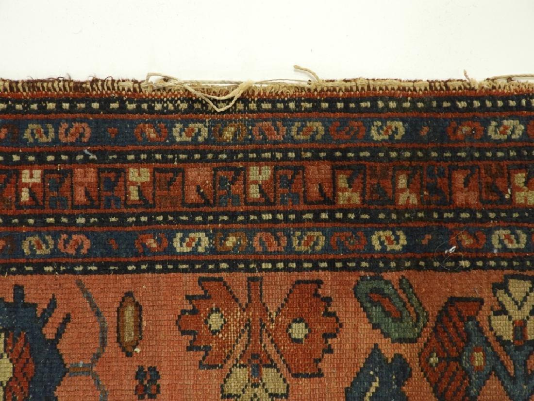 C.1900 Persian Oriental Lilihan Sarouk Carpet Rug - 6