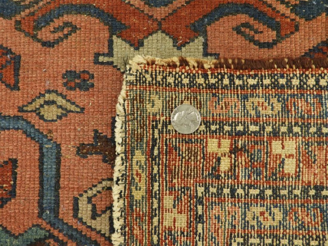 C.1900 Persian Oriental Lilihan Sarouk Carpet Rug - 7
