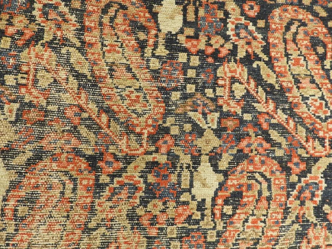 C.1900 Caucasian Oriental Malaya Carpet Rug - 7