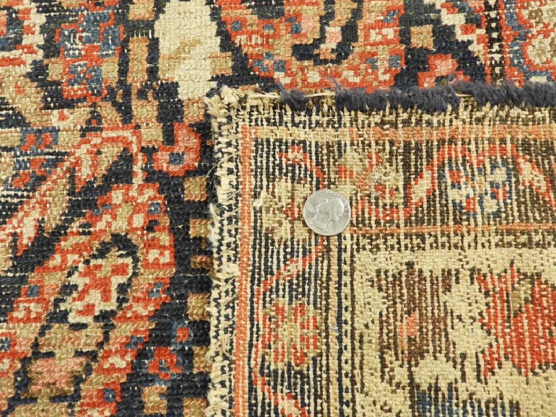 C.1900 Caucasian Oriental Malaya Carpet Rug - 8
