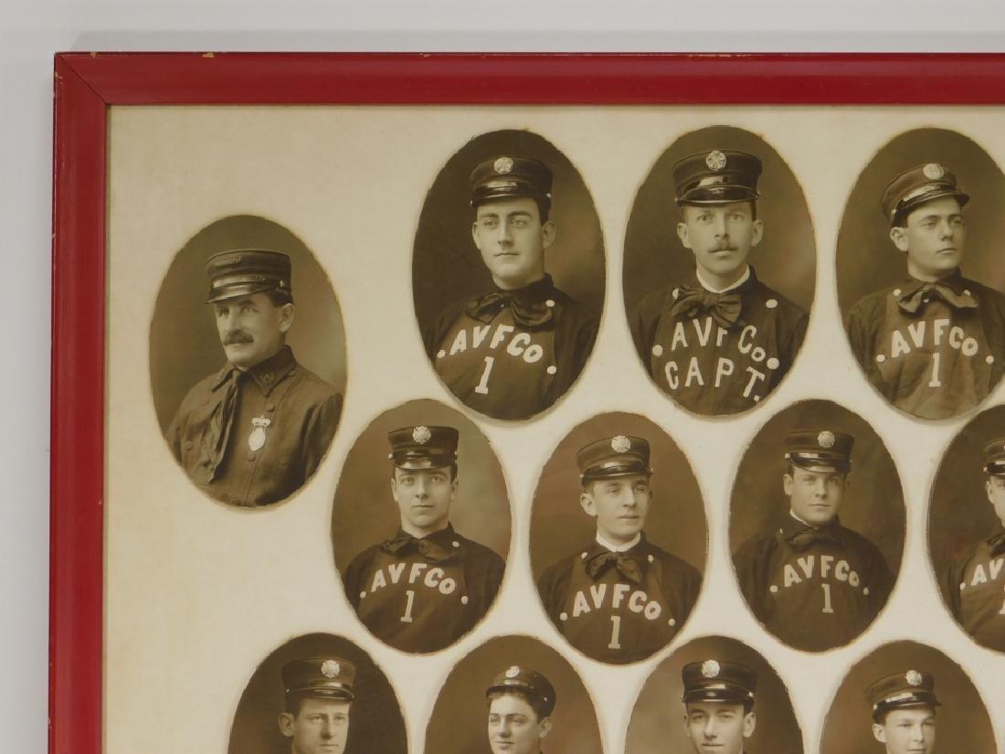 Early Rhode Island Fire Fighter Staff Photographs - 2