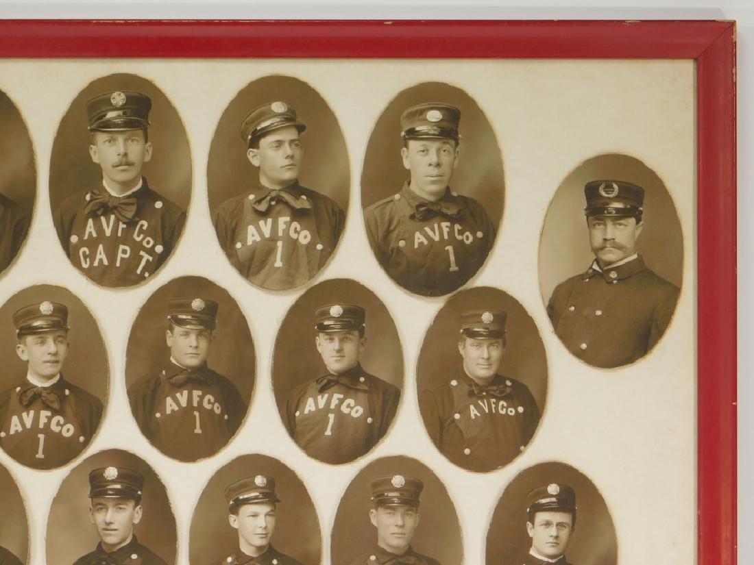Early Rhode Island Fire Fighter Staff Photographs - 3