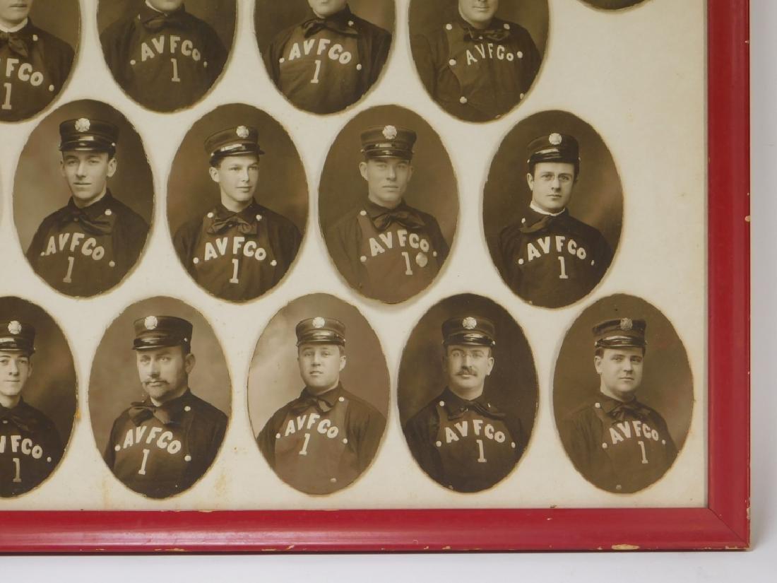Early Rhode Island Fire Fighter Staff Photographs - 4
