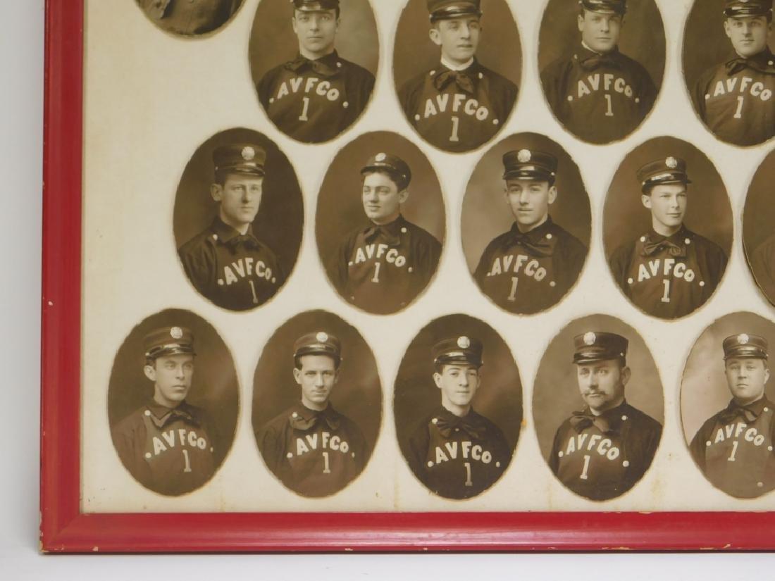Early Rhode Island Fire Fighter Staff Photographs - 5