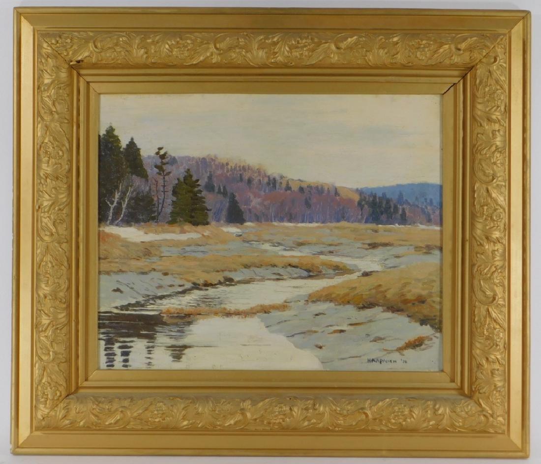 John Haapanen Autumn River Landscape Painting - 2